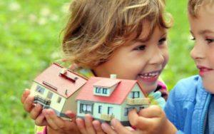 Как оформить квартиру на несовершеннолетнего ребенка