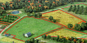 Как исправить ошибку при наложении границ земельных участков